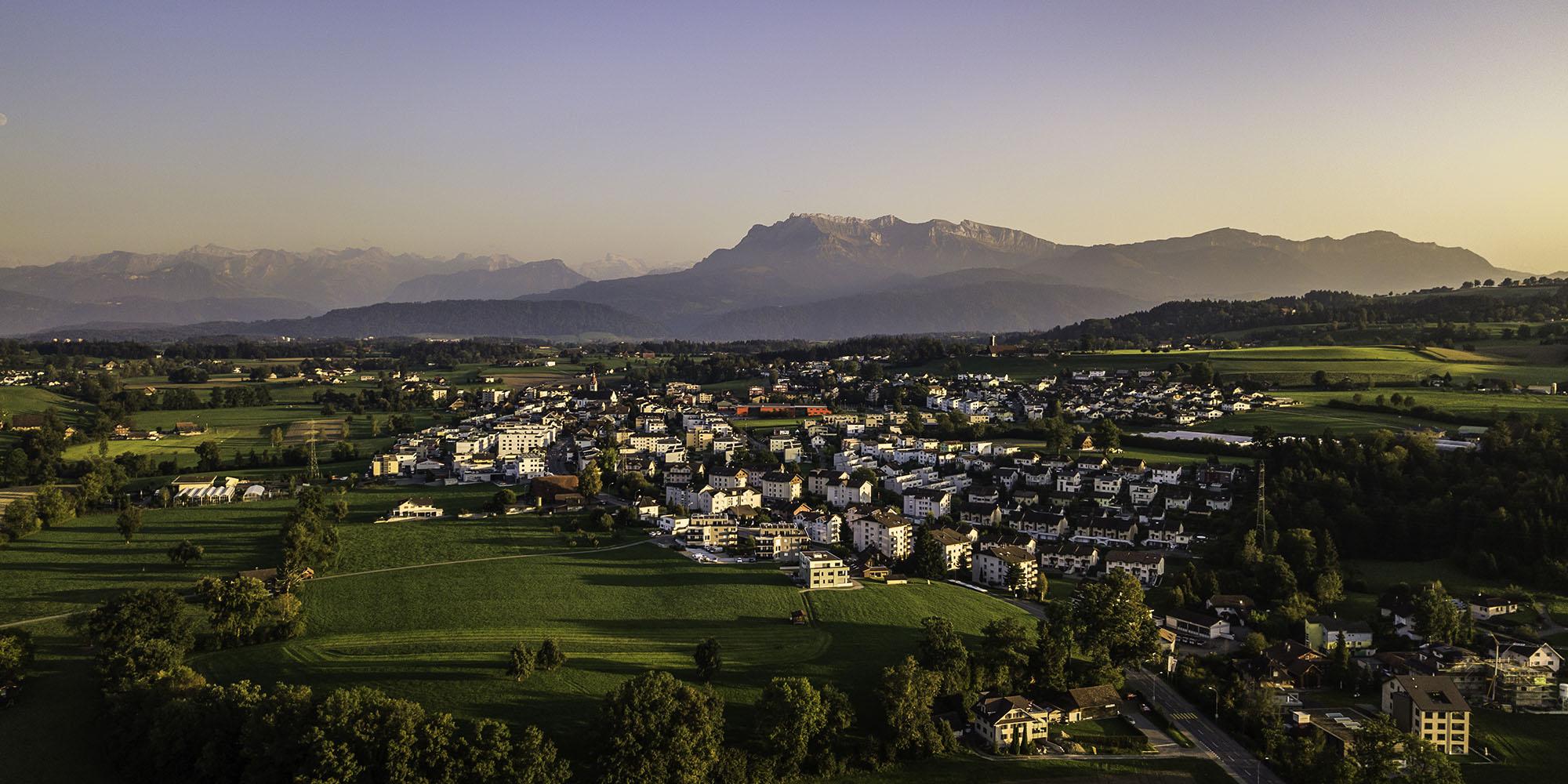 Luftaufnahme Neuenkirch