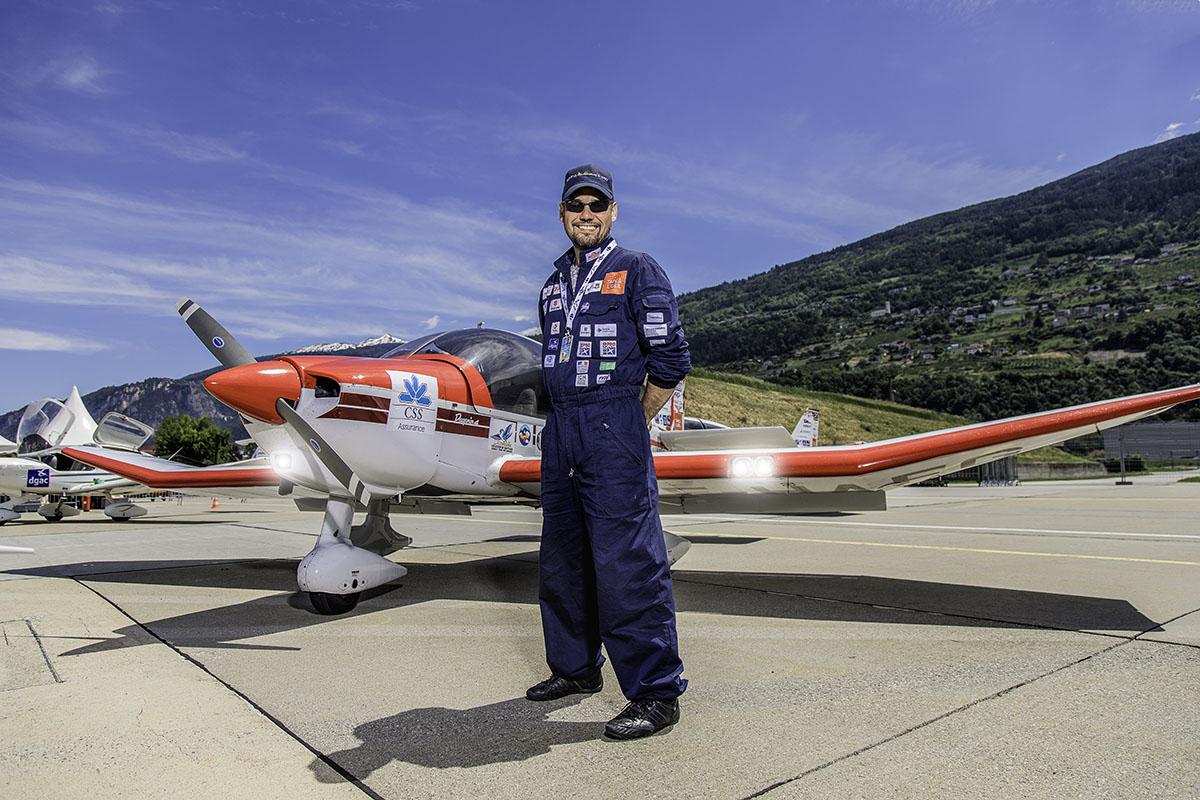 Pilot Fotoshooting